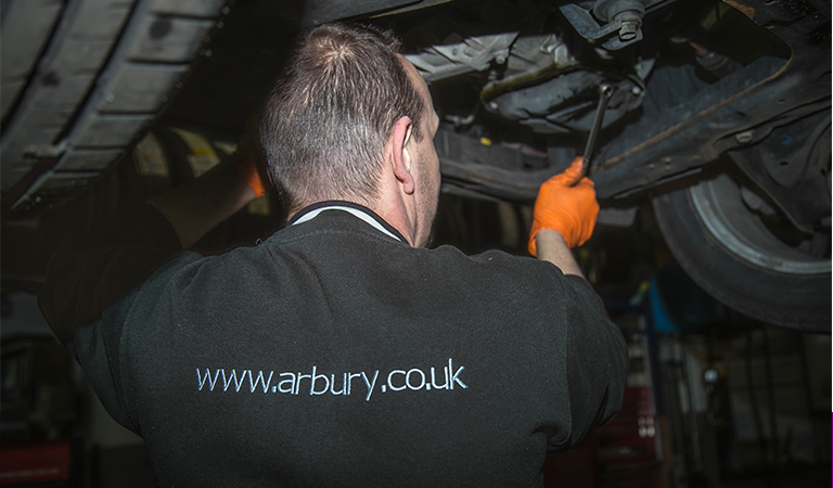 Arbury Used Car Service Offer