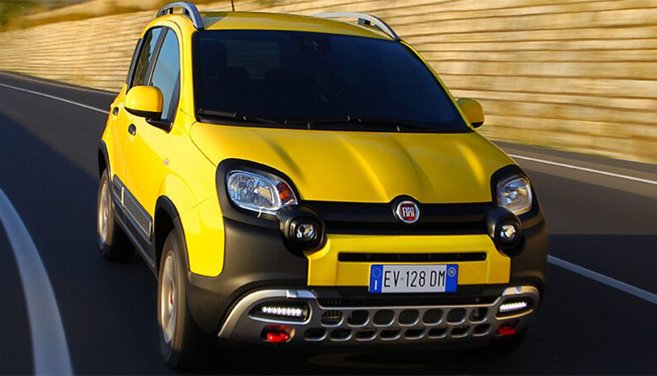 Fiat Panda Cross crowned Best Crossover by 4x4 Magazine