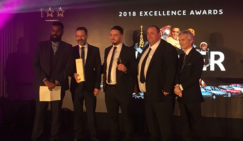 Double honours for Arbury in Nuneaton at Citroën Excellence Awards