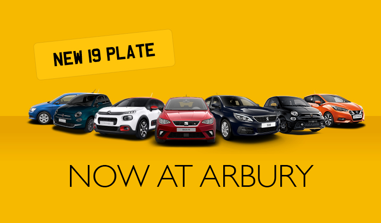 The new 19 plate is here!