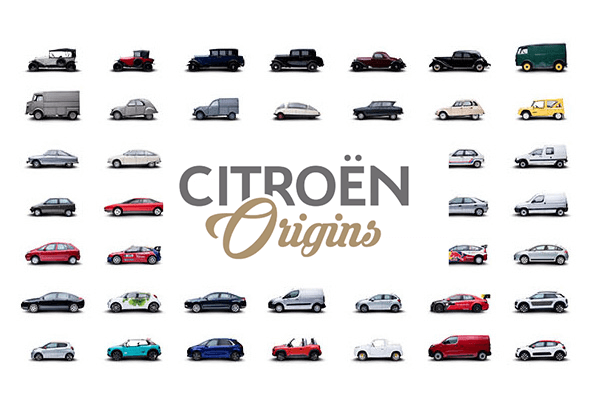 Celebrating 100 years of Citroën
