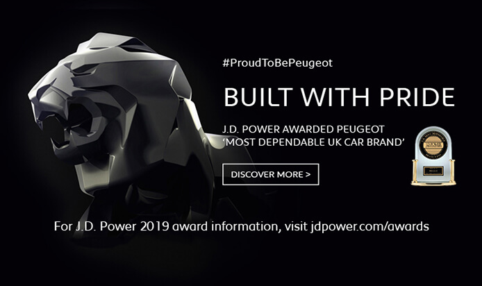 Peugeot revealed as UK's most dependable car brand in J.D. Power survey