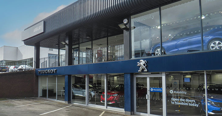 Arbury, Peugeot in Stourbridge